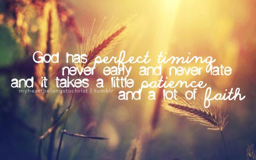 Gods-Perfect-Timing